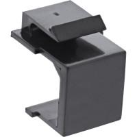 InLine® Keystone SNAP-In Blindabdeckung für Modul Steckplatz, schwarz, 10er Pack