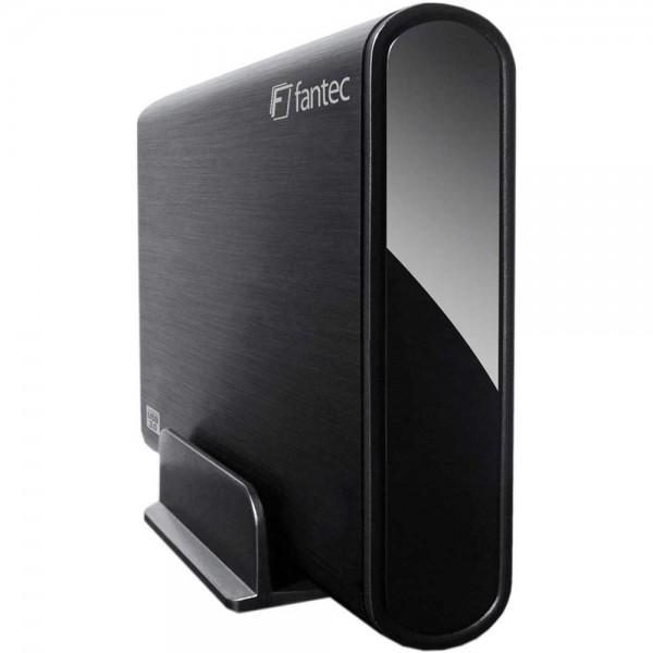 "FANTEC DB-ALU3, externes 3,5""-SATA-Gehäuse, USB 3.0, schwarz"
