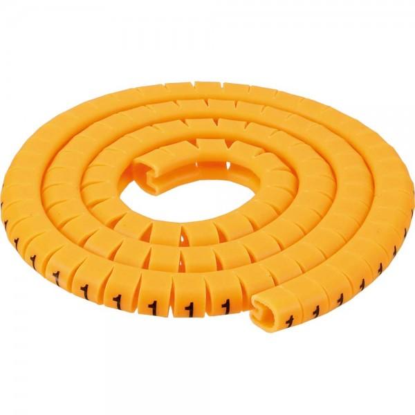 InLine® Kabelmarkierer 3,0-5,2mm, Nr.0-9, 1000 Stück