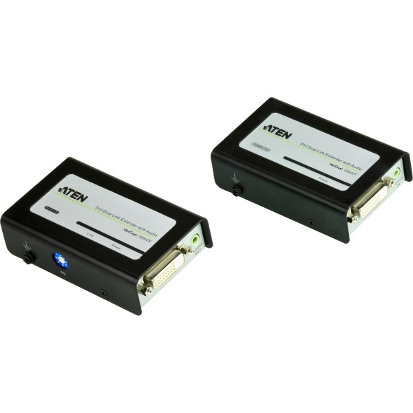 ATEN VE602 Video-Extender, DVI-Dual-Link/Audio-Verlängerung über Cat.5e