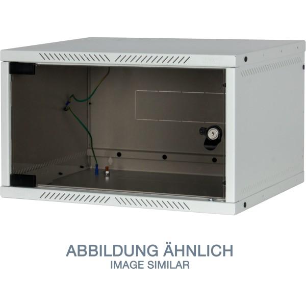 "Triton RXA-06-AS4-CAX-A1 19"" Wandschrank 6HE, 550x400mm, zerlegbar, grau"