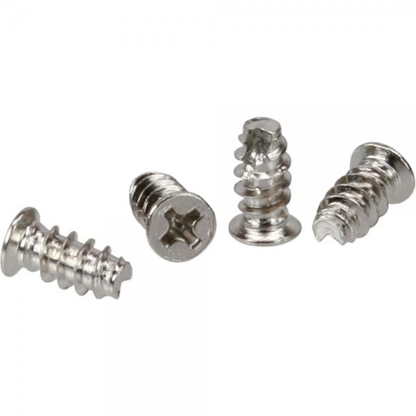InLine® Lüfterschrauben, 5,0x10,0mm, verzinkt, 4er Pack
