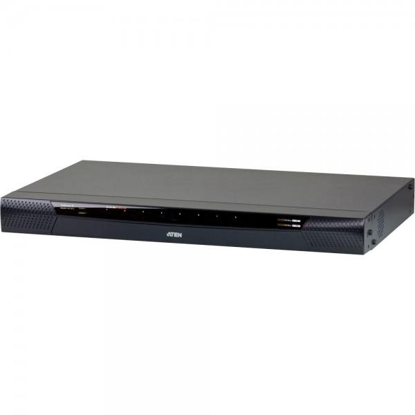 ATEN KN1108VA KVM-Over-IP Switch 8-Port, mit virtuellen Datenträgern, max. 1920 x 1200