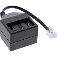 InLine® TAE Adapterkabel, RJ11 (6P4C) Stecker auf TAE NFN Buchse