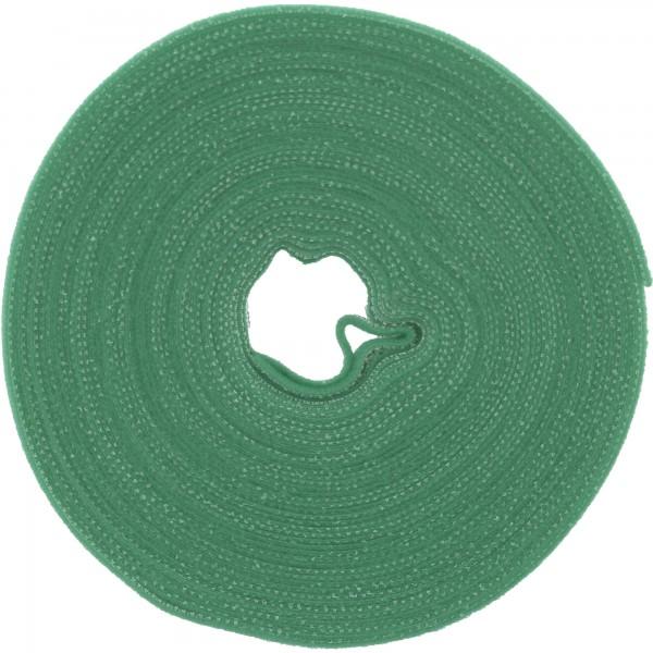 InLine® Kabelbinder, Klettverschlussband 16mm, grün, 10m