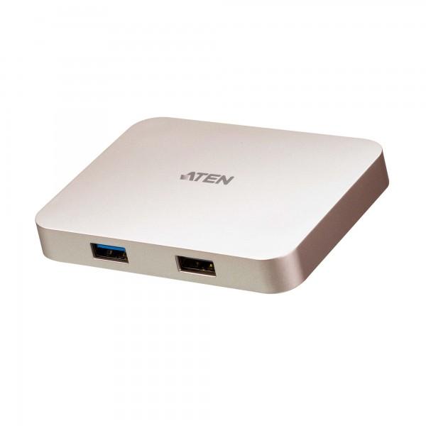 Aten UH3235 USB-C 4K Ultra Mini Dock - PD60W