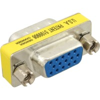 InLine® Mini-Gender-Changer, 15pol HD (VGA), Stecker / Buchse