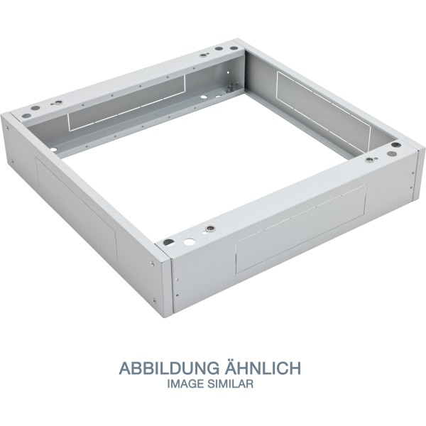 """Triton RAC-PO-X69-XN 19"""" Sockel, 600x900x120mm mit Filter, grau"""