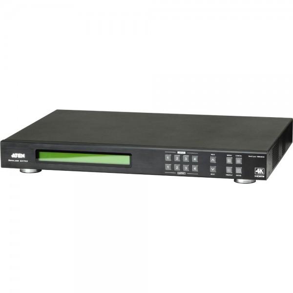 ATEN VM6404H Video-Matrix-Switch HDMI 4x4 Umschalter, FullHD, 4K, mit Scaler