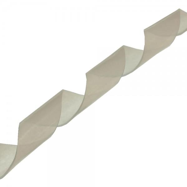 InLine® Spiralband 10m, weiß, 16mm