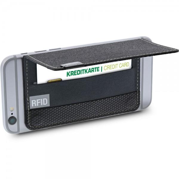 InLine® Smartphone Kreditkartenetui, mit RFID Schutz, schwarz
