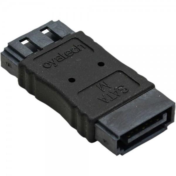 InLine® SATA Adapter Buchse / Buchse, zum Verlängern