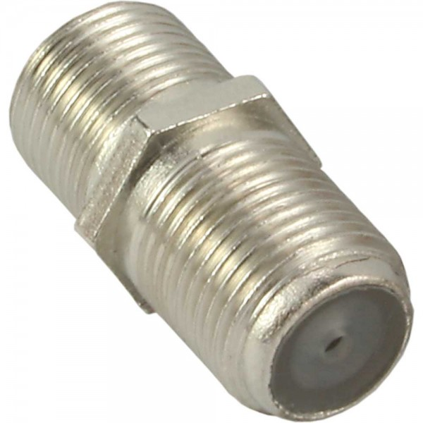 InLine® SAT F-Verbinder (Doppelbuchse, F-Kupplung), 10er Pack
