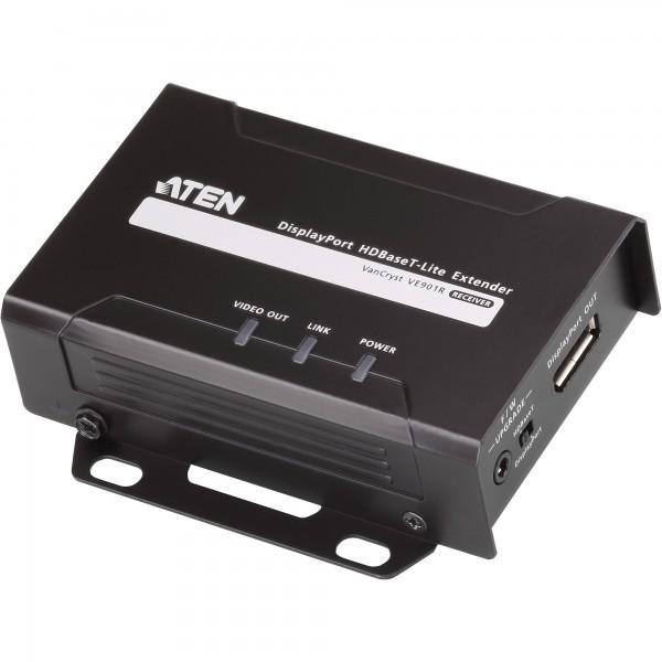 ATEN VE901R Video-Extender DisplayPort HDBaseT-Lite, Receiver, nur Empfängereinheit