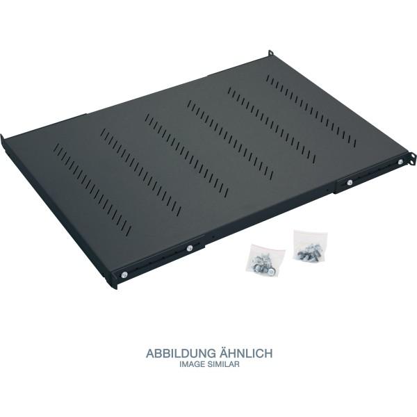 """Triton RAB-UP-850-H4 19"""" Schwerlast-Fachboden, 1HE, 850mm, 150kg, schwarz"""
