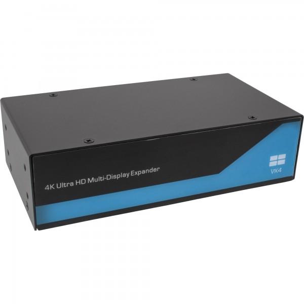 InLine® Displayport zu DVI 2x2 Videowand Splitter, 2 Eingänge auf 4 Ausgänge, 4K2K
