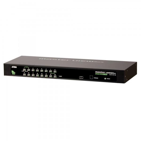 ATEN CS1316 KVM-Switch 16-fach, PS/2, USB, 19-Zoll-Rackmontage, 1HE