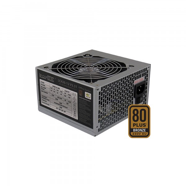 LC-Power LC420-12 V2.31, ATX-Netzteil Office-Serie, 350W, 80+ BRONZE