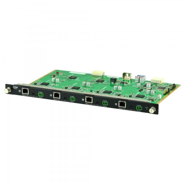 ATEN VM8514 4-Port-HDBaseT-Ausgabekarte für VM1600, 4 HDMI-Quellen an 4 Displays