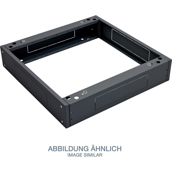 "Triton RAB-PO-X68-XN 19"" Sockel, 600x800x120mm mit Filter, schwarz"