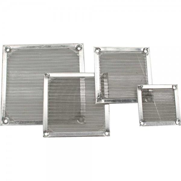 InLine® Lüftergitter, Aluminium Filter, 80x80mm