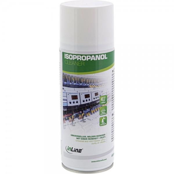 InLine® Isopropanol, universeller, milder Reiniger mit einer Reinheit > 99,9%, 400ml
