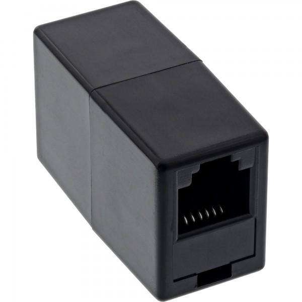 InLine® ISDN Kupplung 2x RJ45 Buchse