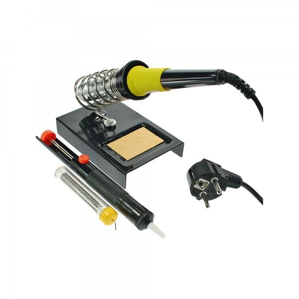 InLine® Lötkolben-Set, 30W 230V, 4-teilig