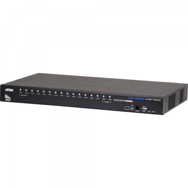 ATEN CS17916 KVMP-Switch 16-fach, HDMI, USB 2.0, Audio