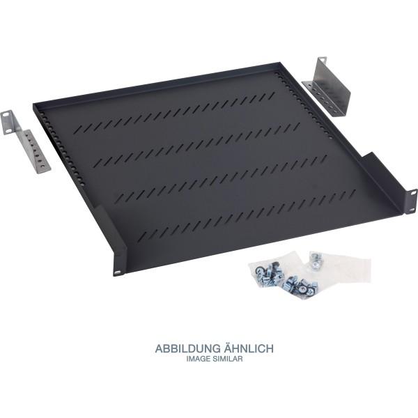 "Triton RAB-UP-650-A1 19"" Fachboden 1HE, 650mm, 40kg, schwarz"