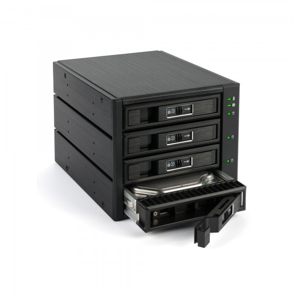 "FANTEC BP-T3141, SAS & SATA Backplane für 4x 3,5""/2,5"" HDD/SSD, schwarz"