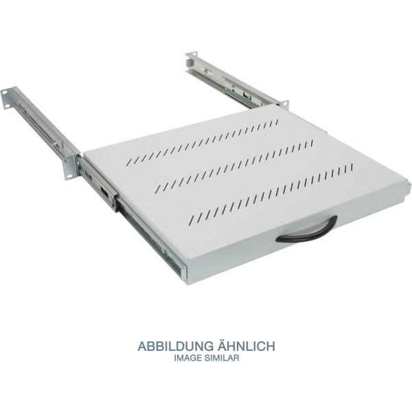 """Triton RAC-UP-X31-A1 19"""" Fachboden 1HE ausziehbar, 450mm, 30kg, grau"""