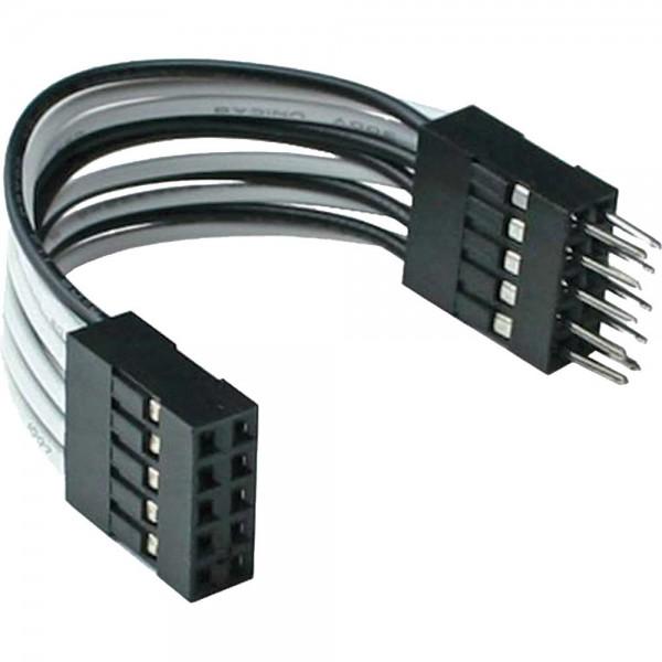 InLine® USB 2.0 Verlängerung, intern, 2x 5pol Pfostenstecker auf Pfostenbuchse, 5cm