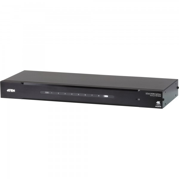 ATEN VS0108HB Video-Splitter HDMI 8-fach-Verteiler, UHD True 4K 3D