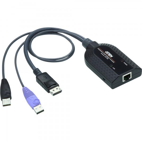 ATEN KA7189 KVM-Adapter, CPU-Modul, USB DisplayPort Virtual Media KVM Adapterkabel