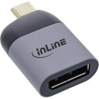 InLine® USB Display Konverter, USB Typ-C Stecker zu DisplayPort Buchse (DP Alt Mode), 8K@60Hz
