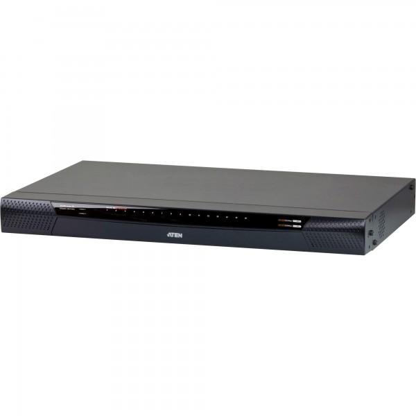 ATEN KN1116VA KVM-Over-IP Switch 16-Port, mit virtuellen Datenträgern, max. 1920 x 1200