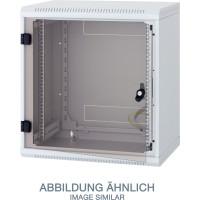 "Triton RBA-12-AS5-CAX-A1 19"" Wandschrank 12HE, 600x495mm, einteilig, grau"