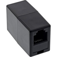 InLine® Modular Kupplung, RJ12 Buchse / Buchse