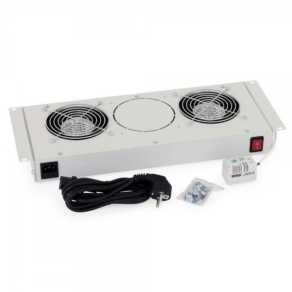 Belüftungseinheit Triton RAC-CH-X25-X1, für RBA-xxx-A6 mit zwei Lüftern (je 160m3/h), 240V, 50/60Hz & Thermostat