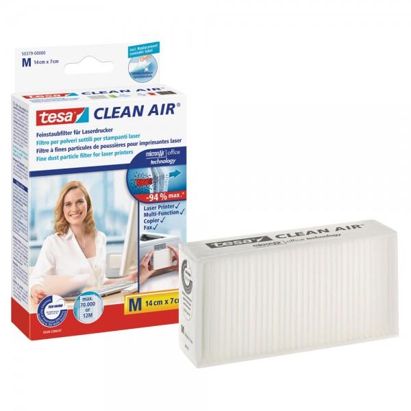 tesa Clean Air Feinstaubfilter für Laserdrucker, Größe M