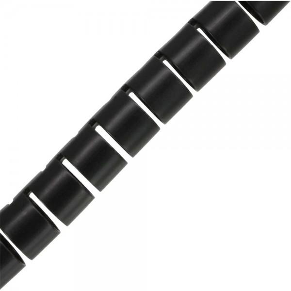 InLine® flexibeler Kabelkanal/Kabelschlauch 10m, schwarz, 20mm