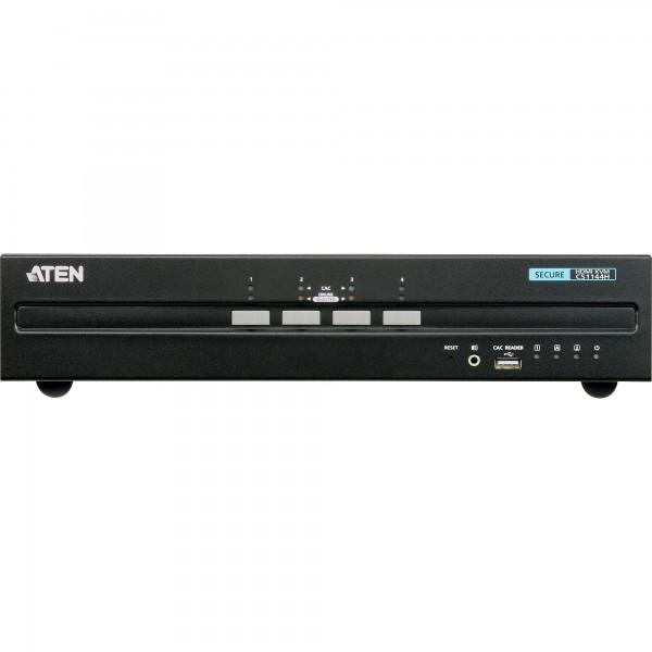 ATEN CS1144H KVM Secure Switch, 4-fach, HDMI Dual Display, USB, Audio