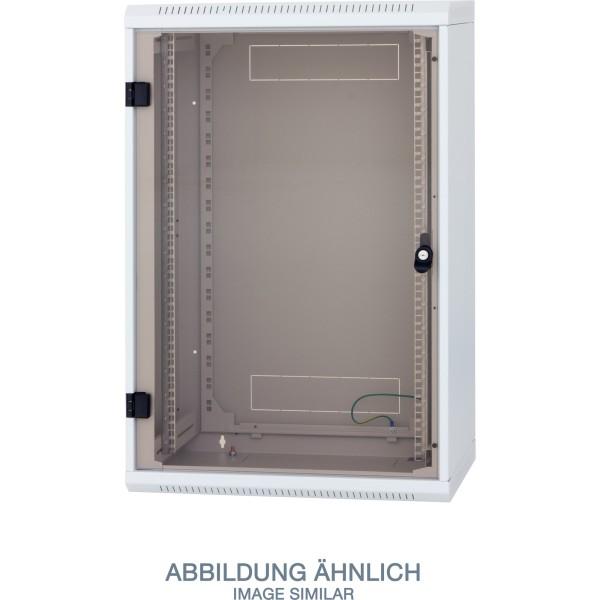 "Triton RBA-18-AS4-CAX-A1 19"" Wandschrank 18HE, 600x395mm, einteilig, grau"