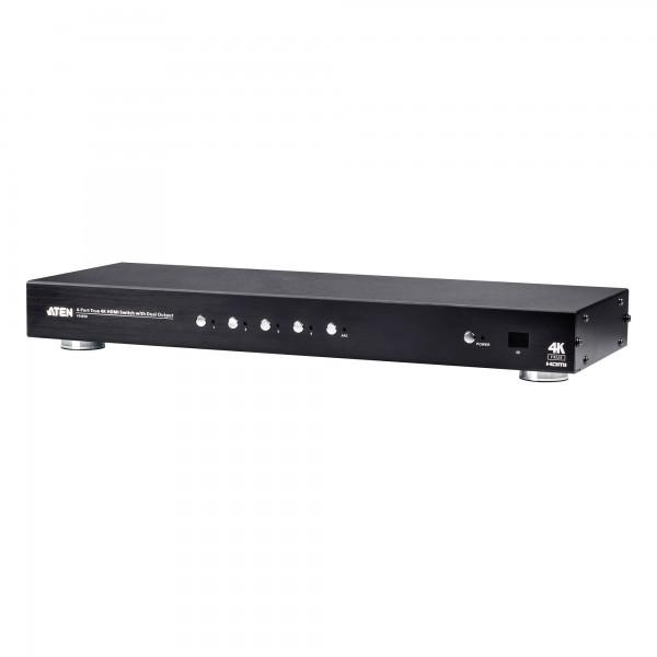 ATEN VS482B 4-Port True 4K HDMI Switch mit Dual-Ausgang