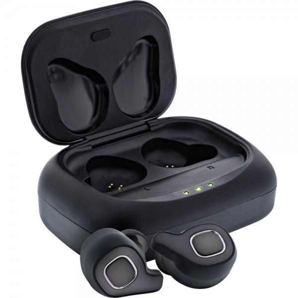 InLine® PURE Air TWS, Bluetooth In-Ear Kopfhörer mit True wireless Stereo, mit Qi-Case PowerBank