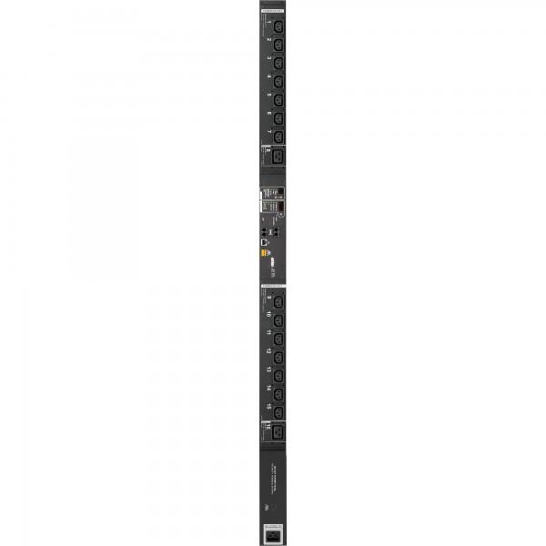 ATEN PE7216G Stromverteilung eco PDU, 14 Ausgänge C13 + 2x C19, Ausgangsmessfunktion, max. 16A