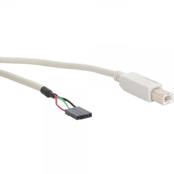 InLine® USB 2.0 Anschlusskabel, Stecker B auf Pfostenanschluss, 0,4m