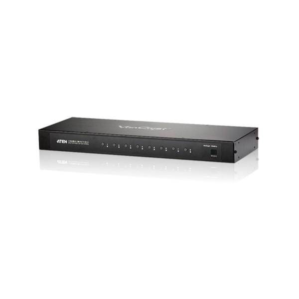 ATEN VS0801A Monitor-Umschalter S-VGA 8-fach mit Audio