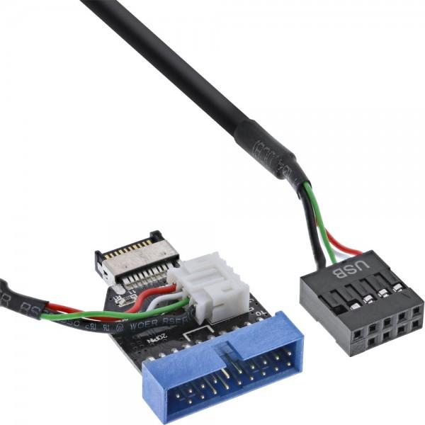 InLine® USB 3.1 zu 3.0 Adapter intern